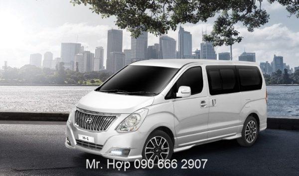 Hyundai Starex Mau Trang