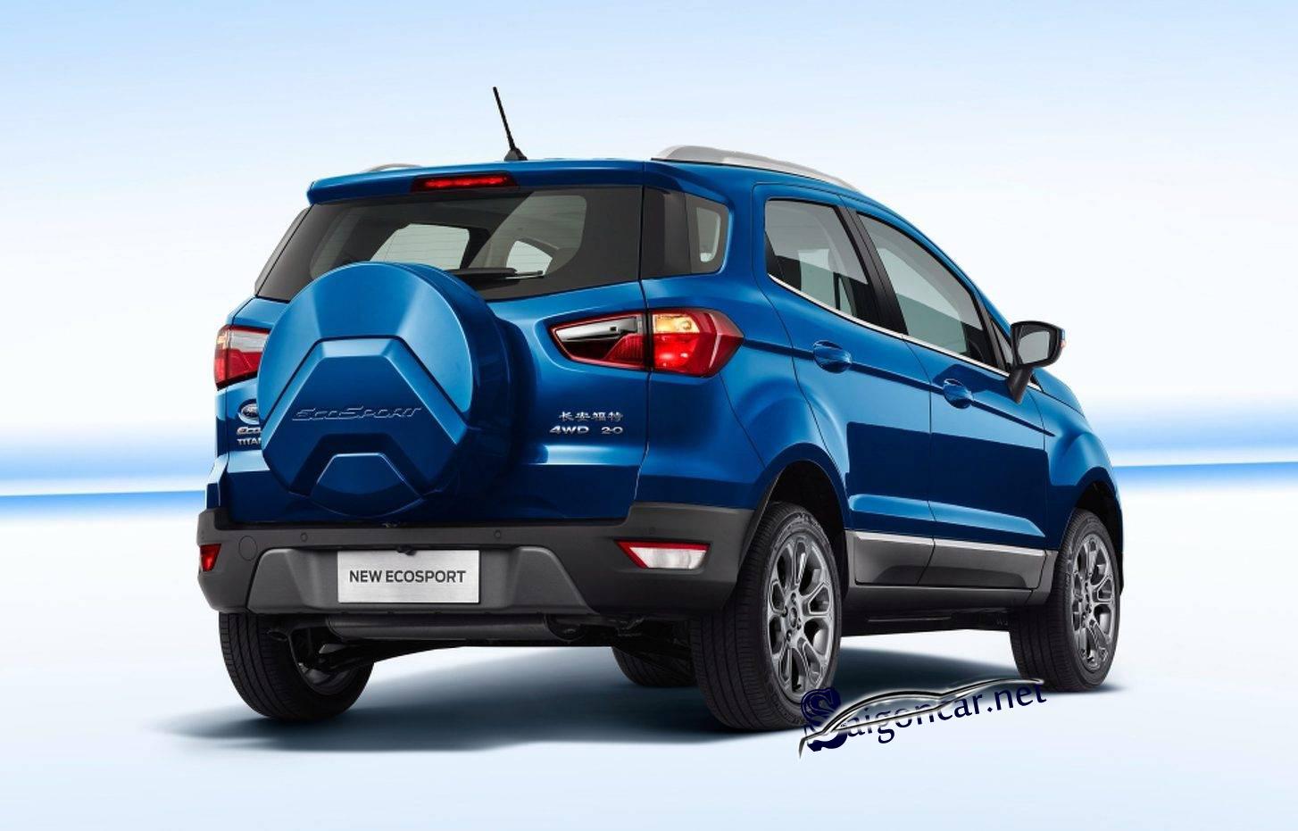 Đuôi xe Ford Ecosport 2019