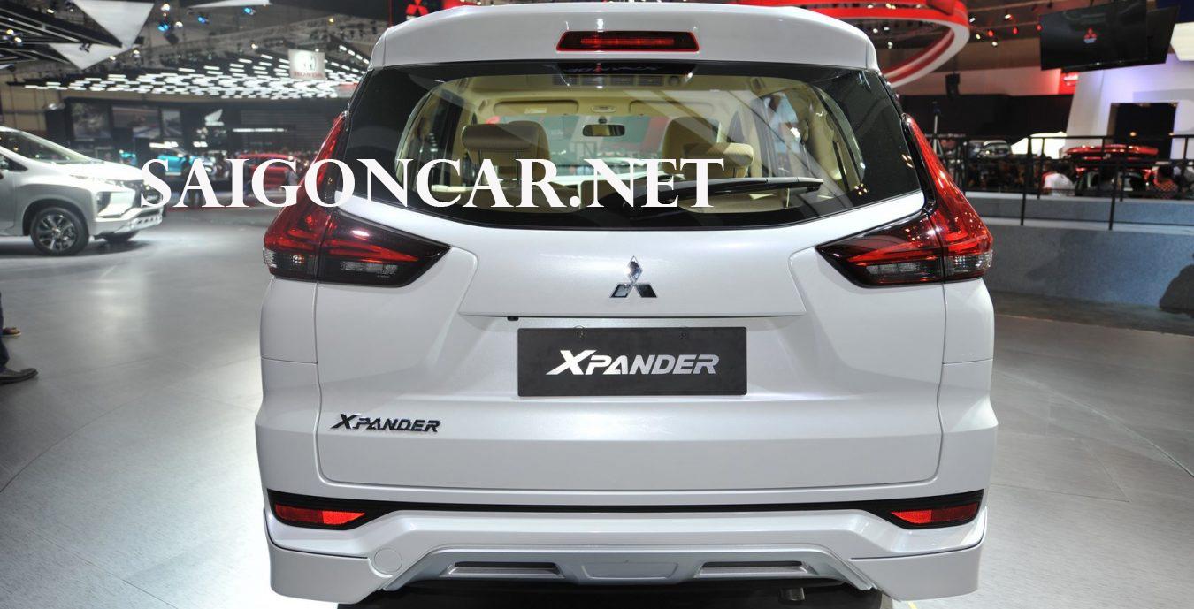 Đuôi xe Mitsubishi Xpander 2019