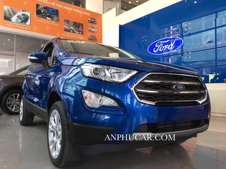 Ford Ecosport 2019 màu xanh