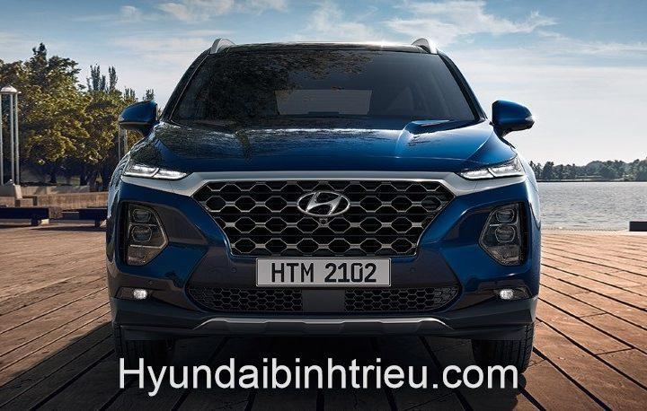 Hyundai Santafe 2020 Tong Quan