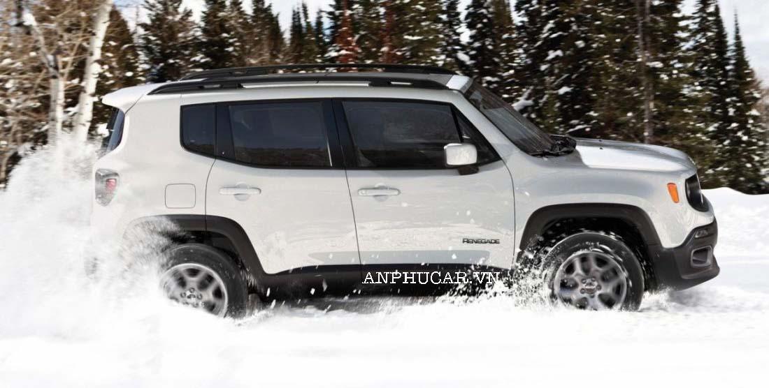 Khả năng vận hành của Jeep Renegade 2020