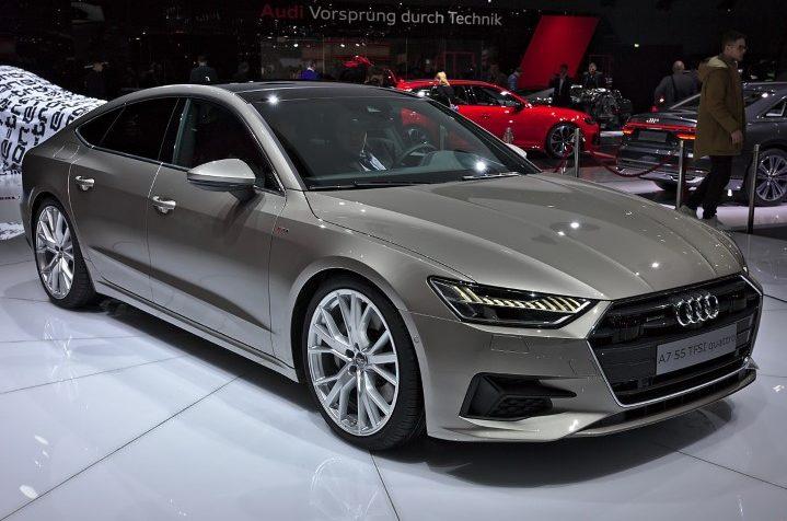 Audi A7 dau xe