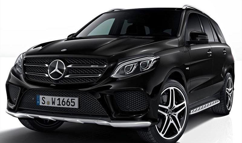 Mercedes Benz GLE 400 hong xe