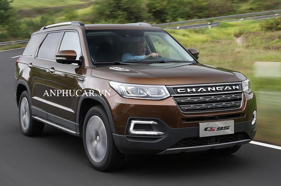 Changan CS95 2020 dòng SUV 7 chỗ giá rẻ cho khách hàng Việt