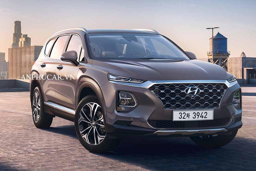 Đánh giá xe Hyundai Santafe 2020, khuyến mãi mua xe
