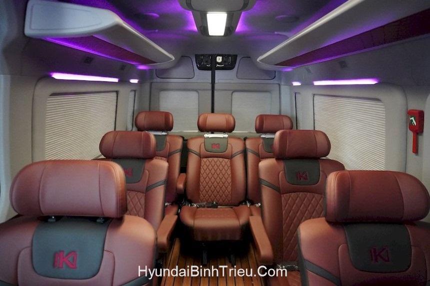 Hyundai Solati Limousine 2020 Ghe Da