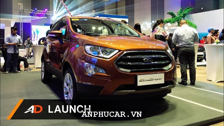 Ford Ecosport 2020 được trang bị động cơ mới cực kì ấn tượng