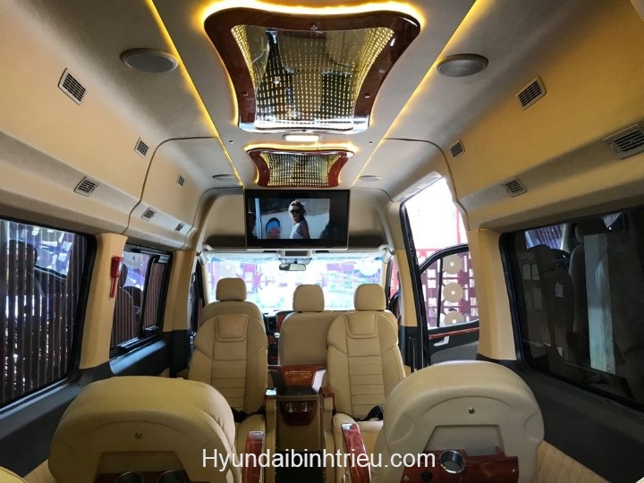 Huyndai Solati Limousine 2020 Ghe Da