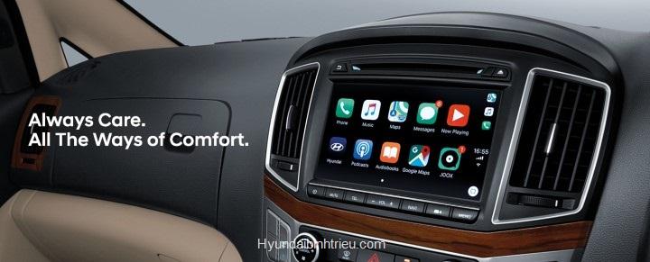 Hyundai Starex 9 chỗ 2020 Man Hinh