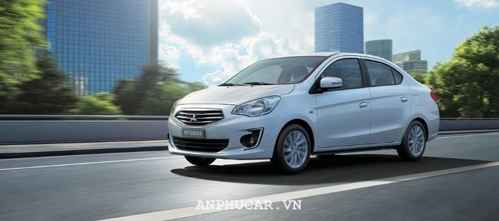 Mitsubishi Attrage 2020 cạnh tranh về giá cùng đối thủ