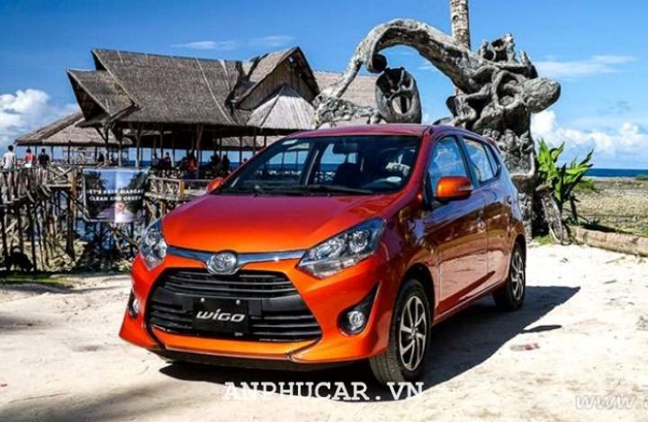 Toyota Wigo 1.2AT 2020 bao nhieu