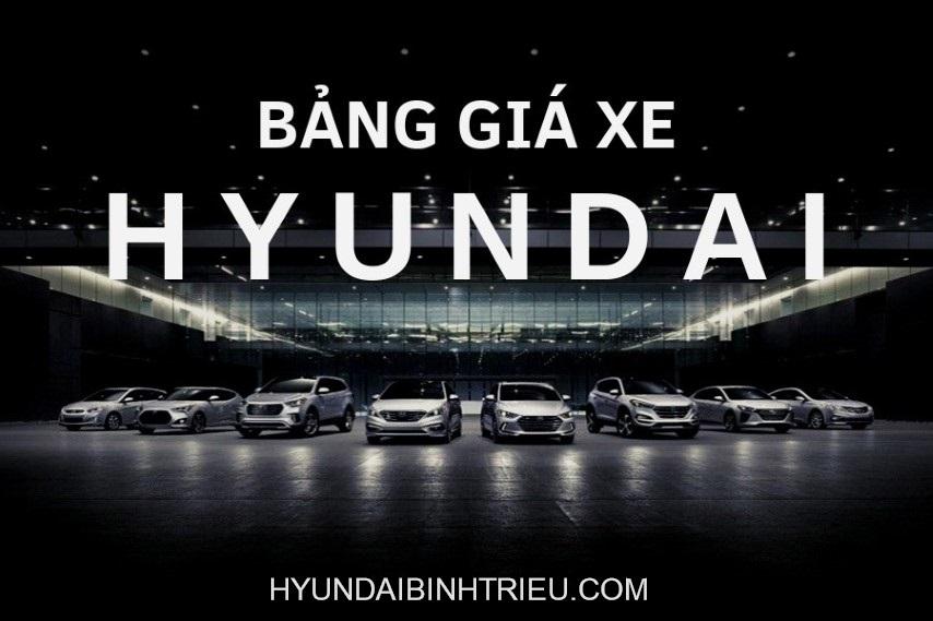 Bang Gia Xe Hyundai 2020 Ngoc An