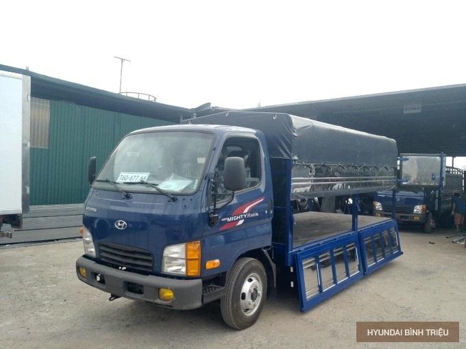 Gia Xe Tai Hyundai N250SL Mau Xanh