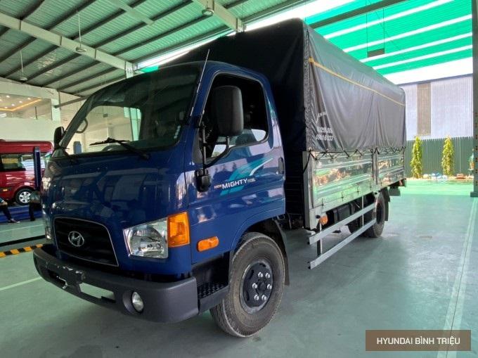Hyundai Mighty 110SL 2020 Mau Xanh