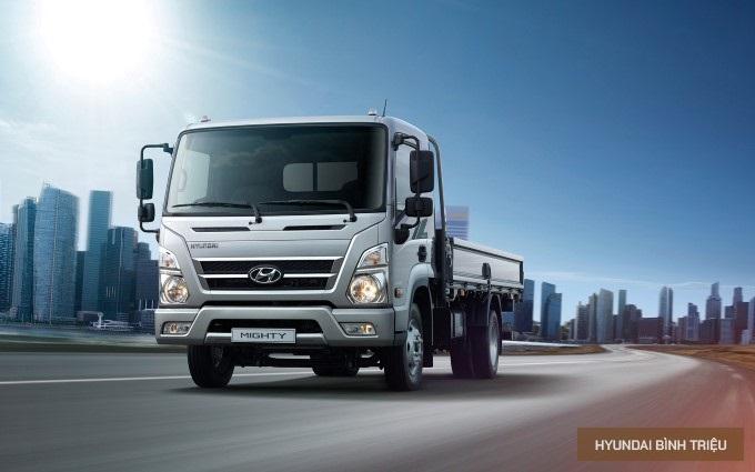 Hyundai Mighty EX6 2020 Tong Quan