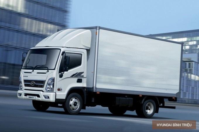 Hyundai Mighty EX8 2020 Tong Quan