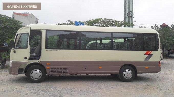 Hyundai County 2020 Chieu Dai