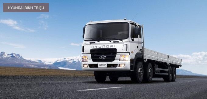 Hyundai HD320 2020 dòng xe tải 18 tấn 4 chân giá ưu đãi