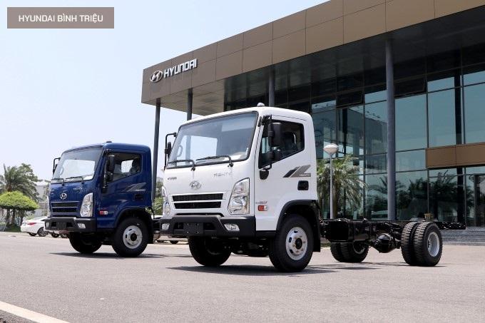 Hyundai Mighty EX8 GT 2020 Gia Xe
