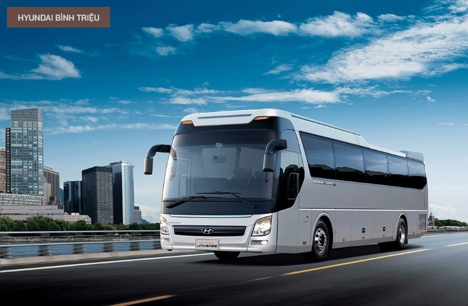 Đánh giá xe 47 chỗ Hyundai Universe đời mới có gì nổi bật