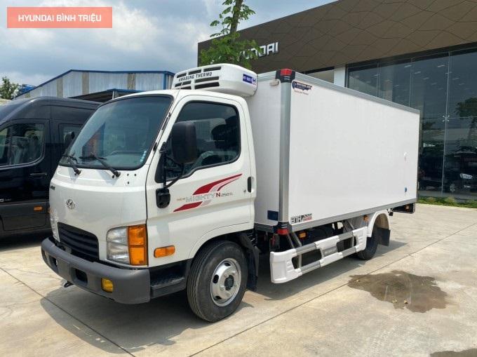Xe Tai 2.5 Tan Hyundai Dau Xe
