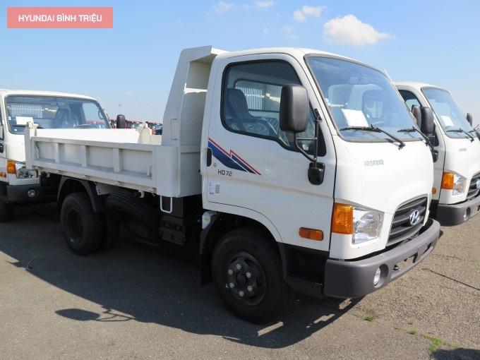 Xe Tai 3.5 Tan Hyundai Thung Ben