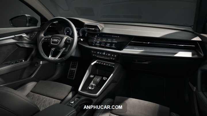 ben trong xe Audi A3 2021